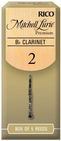 Rico Royal Bb-Klarinette 2,5 D/'Addario Woodwinds