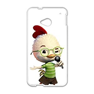 Happy Chicken Little Sing Case Cover For HTC M7