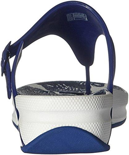 Fitflop Womens Superjelly Flip Flop Mazarine Blue