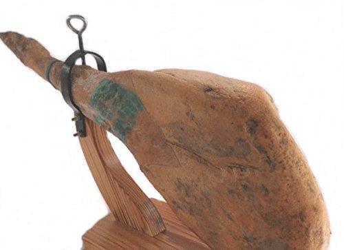 「24ヶ月熟成」ハモンセラーノ・グランレセルバ 原木後足生ハムカッティングセット【後足約8キロ・台・ナイフ付き】