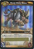 WOOLY WHITE RHINO LOOT CARD WORLD OF WARCRAFT ICECROWN