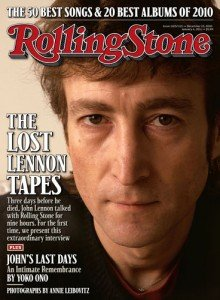 Rolling Stone December 23 2010 John Lennon on Cover, The Lost Lennon Tapes, John's Last Days - An Intimate Remembrance by Yoko Ono, Photos by Annie Liebovitz, 50 Best Songs, 20 Best Albums