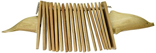 [X8 Drums & Percussion X8-CKL-D Dolphin Wooden Clacker] (Dolphin Percussion)