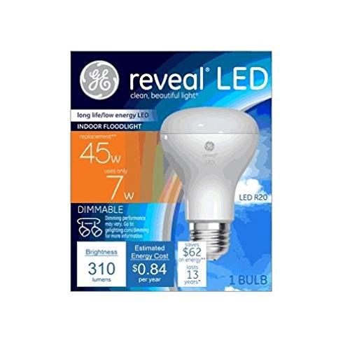 (Generalelectric 45678 Reveal LED 310 Lumens Indoor Floodlight, 1 Pound)