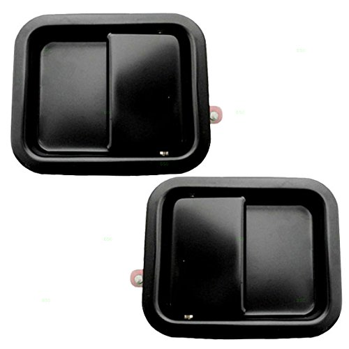 - Driver and Passenger Outside Outer Door Handles Replacement for Jeep 55176382AB 55176382AD