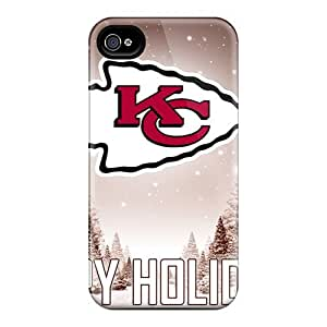 Shock Absorption Hard Phone Cases For Iphone 6plus (TFj9437IOGH) Allow Personal Design High Resolution Kansas City Chiefs Pattern