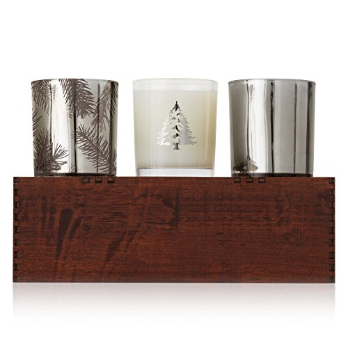 Thymes Frasier Fir Candle Trio by Thymes