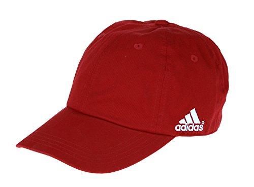 Adidas MLS Men's Canvas Cap (Red) (Adidas Soccer Hat)
