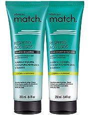 Kit Shampoo e Condicionador Match O Boticário