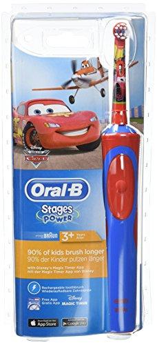 Oral-B Stages Power Kids elektrische Zahnbürste (mit Disney-Autos und -Flugzeugen)