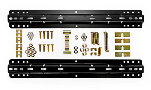 Wheel Fifth 22k - Camco 48631 Black Standard Install Kit (22K,4/10-Bolt Fifth Wheel, Bed Rails and HDW Only)