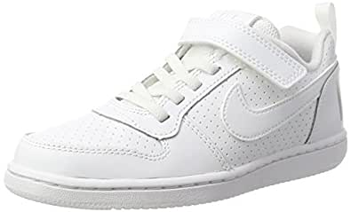 Amazon.com | NIKE Boys' Court Borough Mid Print (GS