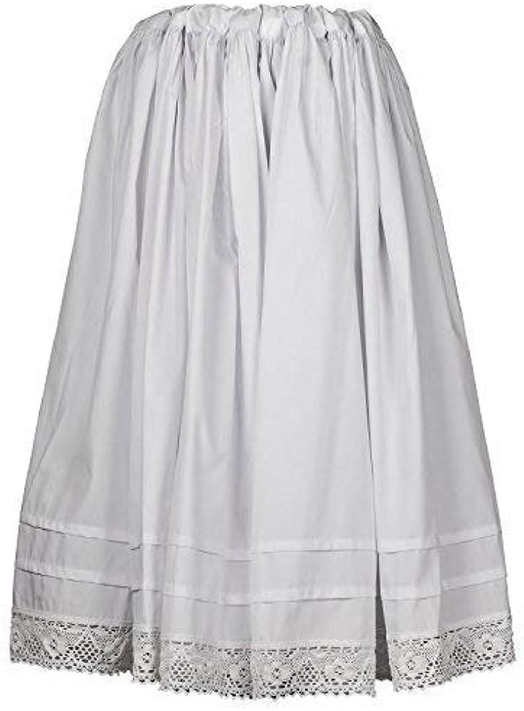 Daquela Modelo A Gudiña - Enagua de algodón para Mujer (Pequeña ...