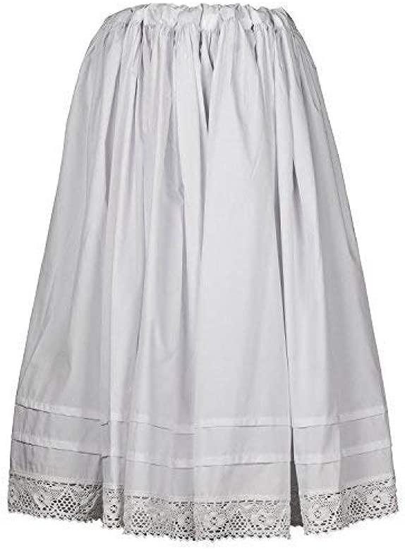 Daquela Modelo A Gudiña - Enagua de algodón para Mujer ...