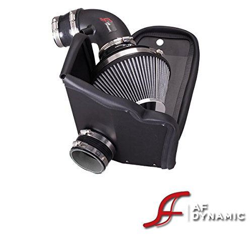 (AF Dynamic Black Air Filter Intake Systems with Heat Shield 2012-2015 For Civic 1.8L 4cyl)
