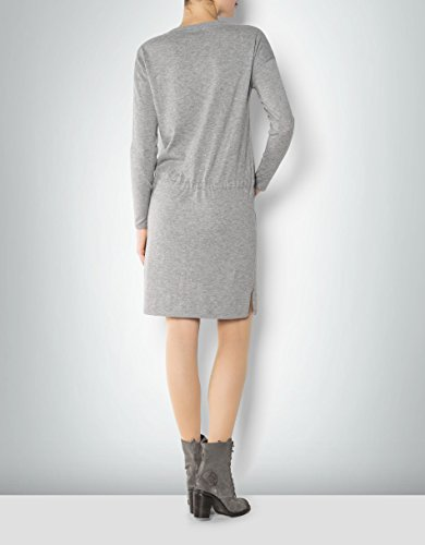 Marc O'Polo Damen Kleid Schurwollmix Dress Meliert, Größe: 36, Farbe: Grau