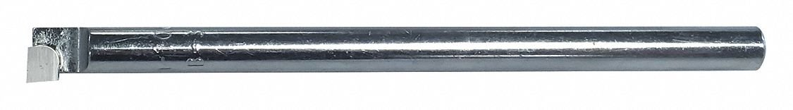 D Style 0.5 Square Shank Neutral Hand C5 Grade American Carbide Tool Carbide-Tipped Pointed Nose Lathe Tool Bit D 8 Size