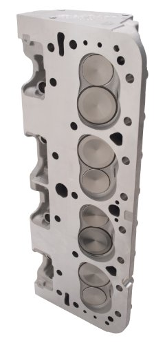 (EDELBROCK CYLINDER HEADS Cylinder Head Performer RPM Assembled Chevy Small Block 60899)