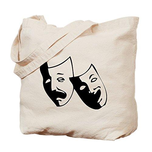 CafePress–Drama Masken–Leinwand Natur Tasche, Reinigungstuch Einkaufstasche Tote S khaki