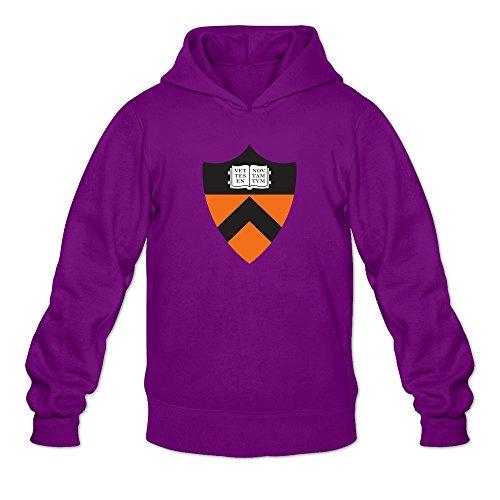 Men Princeton University Customized Retro Size M Color Purple Hoddie By Mjensen