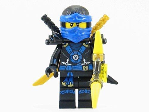LEGO Ninjago Deepstone Jay Blue Ninja Minifigure Yellow Aeroblade NEW -