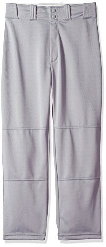 Wilson Youth Classic Relaxed Fit Baseball Pant, Grey, Large