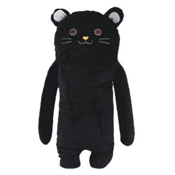 Carcasa de cara de gato negro comodidad ropa de cama de ...