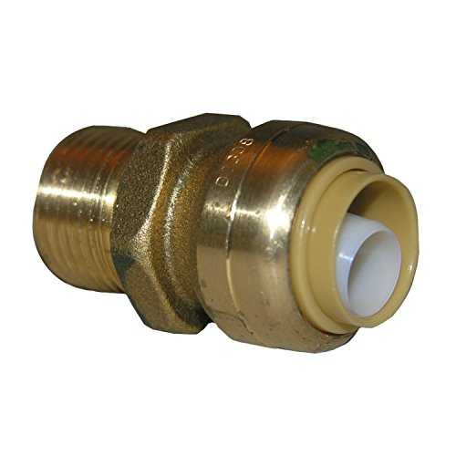 - LASCO 19-8036 Magnagrip, Lead Free Brass Push Fit Fitting, Use On PEX, CPVC or Copper Pipe, 5/8-Inch OD by 3/4-Inch Male Pipe Thread Adapter