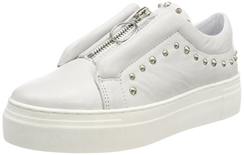 Biz Fumnaya Shoe Blanc White High velvet Basses Sneakers Femme Sdq5wAq6an