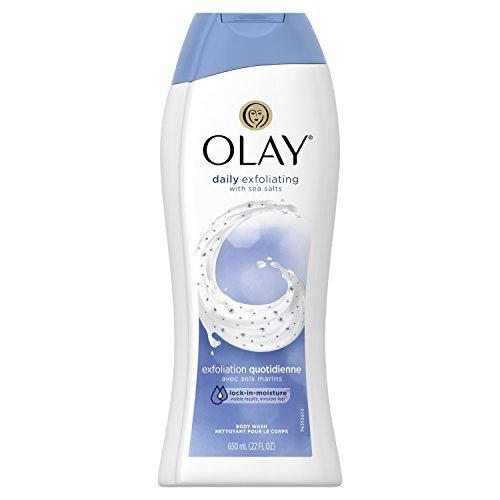 Olay Daily Exfoliating with Sea Salts Body Wash 650mL