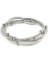 Stainless Steel Bracelet for Women Men Girls
