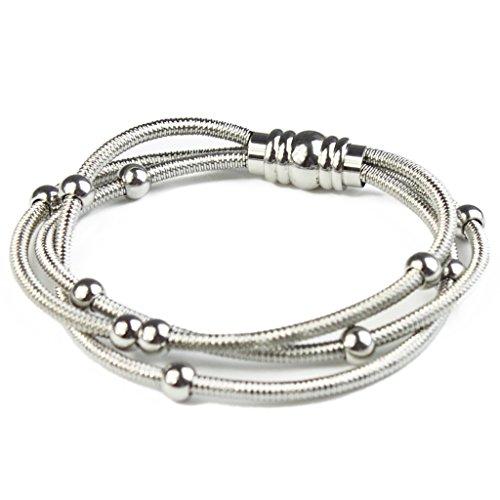 BAYUEBA Stainless Steel Bracelet for Women