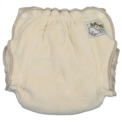 Fitted Diaper Cloth (Mother-ease Sandy's Cloth Diaper (Newborn (6-12 lbs), Organic Cotton))