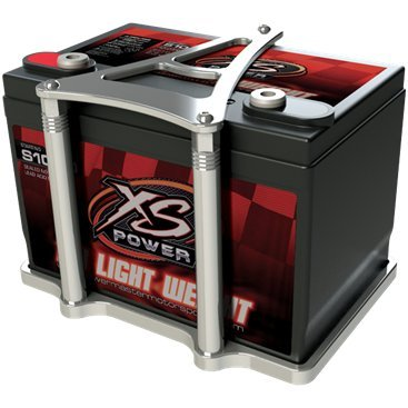 Billet Specialties 248925 XS Polished Power Battery Mount Billet Battery Tray