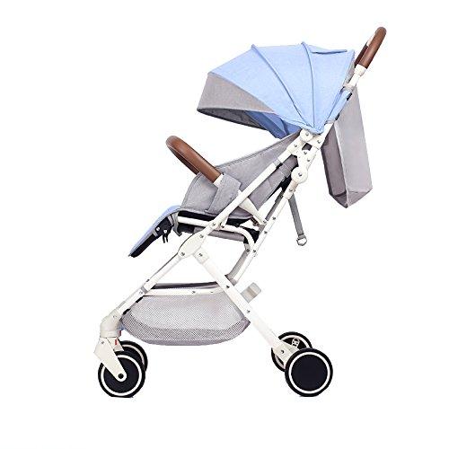 CDREAM Cochecito De Bebé Puede Sentarse Reclinable Ultra Ligero Y Alto Paisaje Plegable Mini Paraguas Carro De Los Niños...