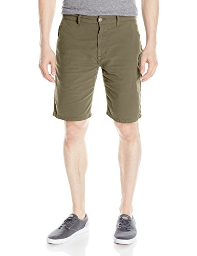 Joes Flat Front Jeans - Joe's Jeans Men's Colored Brixton Stretch Canvas Trouser Short, Fortified Steel, 36