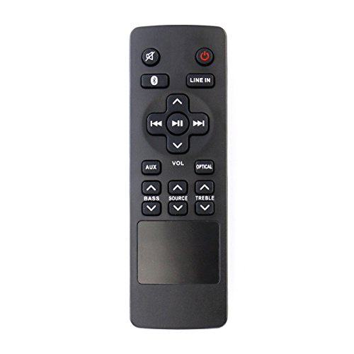Smartby New RTS7010B Remote Control Compatible for RCA RTS7010B, RTS7110B, RTS7630B, RTS7010B-E1 RTS7010BE1 Home Theater Sound Bar (Rca Remote Control)