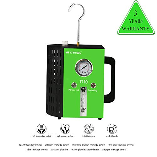 T110 12V Automotive Fuel Leak Detectors Cars Leak Locator Tester Car Fuel Leak Detectors Car Pipe Leakage Tester Support EVAP for All Vehicles by T110 (Image #5)