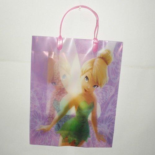 Bag Tinkerbell Goody - Disney Tinkerbell Plastic Goody Bags- Lavender (3 ct)