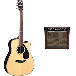 yamaha fgx730sc solid top acoustic electric guitar rosewood natural with. Black Bedroom Furniture Sets. Home Design Ideas