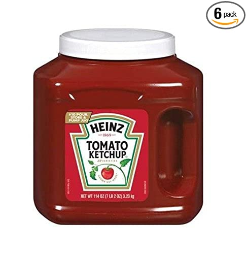 Heinz Ketchup Jug, 114 oz. (Bulk condiments) Pack of 6