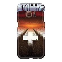 AlissaDubois Samsung Galaxy S6 Excellent Hard Cell-phone Cases Support Personal Customs Fashion Metallica Ride The Lightning Band Pictures [uuP586Lebr]
