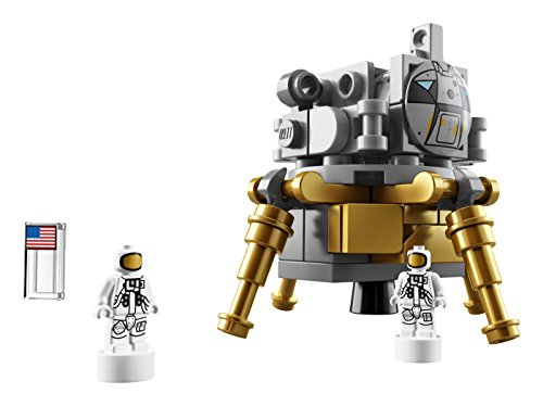 LEGO Ideas NASA Apollo Saturn V 21309 Outer Space Model Rocket for Kids and Adults, Science Building Kit (1969 Pieces)