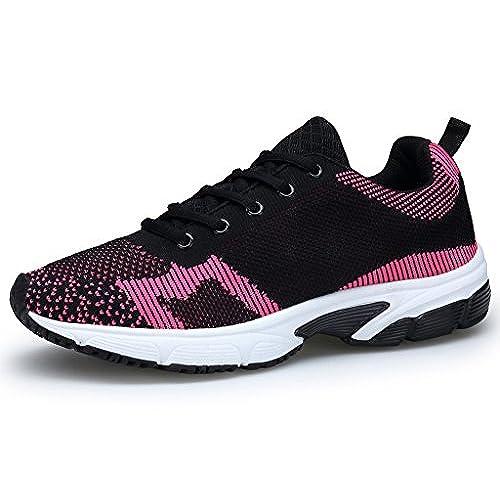 c7fdb1e925c durable service XKMON Femme Chaussures de course running sport Compétition  entraînement basket ete baskets