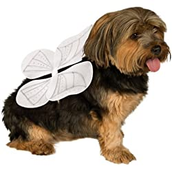 Rubies Costume Company Pet Angel Wings, Medium/Large