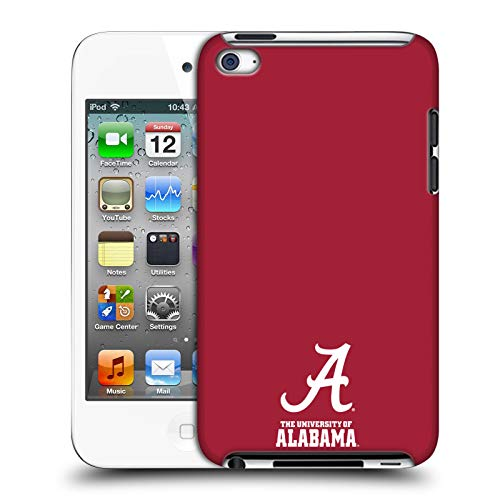 Official University of Alabama UA Logo Hard Back Case Compatible for Apple iPod Touch 4G 4th Gen (Alabama Ipod Touch Case)