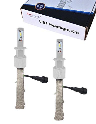 Sinoparcel H1 LED Headlight Bulb -8000LM All-in-One Lights Conversion Kit -2 Yr Warranty
