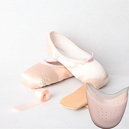 YFF Hot Child and Adult ballet pointe dance shoes shoes shoes ladies professional,satin pink B,19 B0754J4VRP Shoes d1e8b4