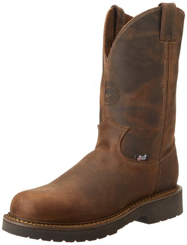 Justin Original Work Men's 4444, Rugged Bay Gaucho, 10.5 EE-Wide