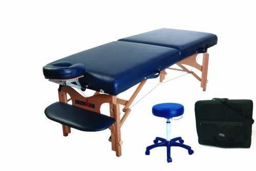 Ironman Mojave Massage Table with Carry Bag and Massage Stoo